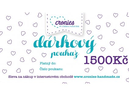 Gift Vouchers Cronies Tyrkys CZ6