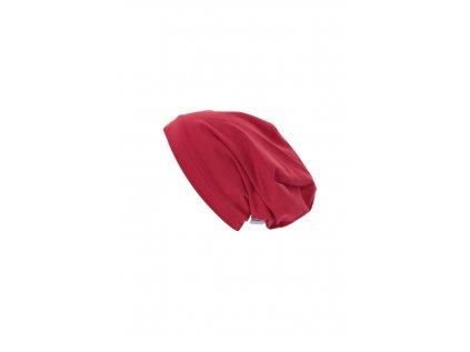 Dětská čepice Červená